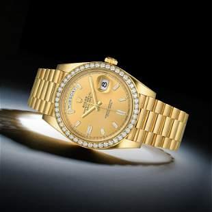 Rolex Day-Date 40 Ref. 228348 in 18K Gold