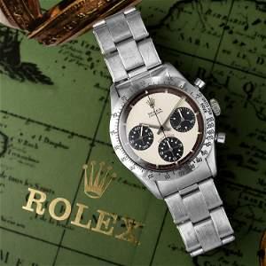 """Rolex Daytona """"Paul Newman"""" Ref. 6239 in Steel"""
