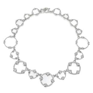 Judith Ripka Diamond Springwire Necklace