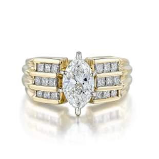 100Carat MarquiseCut Diamond Ring