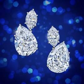 Harry Winston Diamond Earrings
