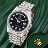 Rolex President Daydate Ref. 118239 in 18K White Gold