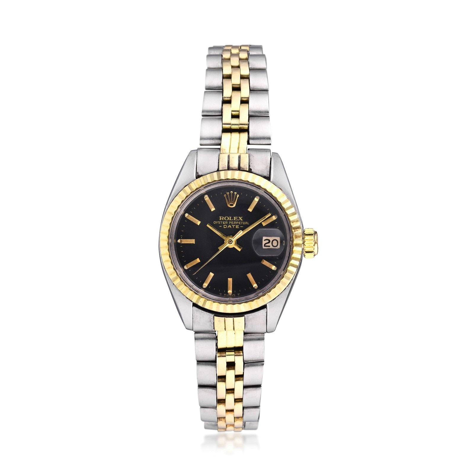 Rolex Oyster Perpetual Date Ref. 6917 in Steel and 14K