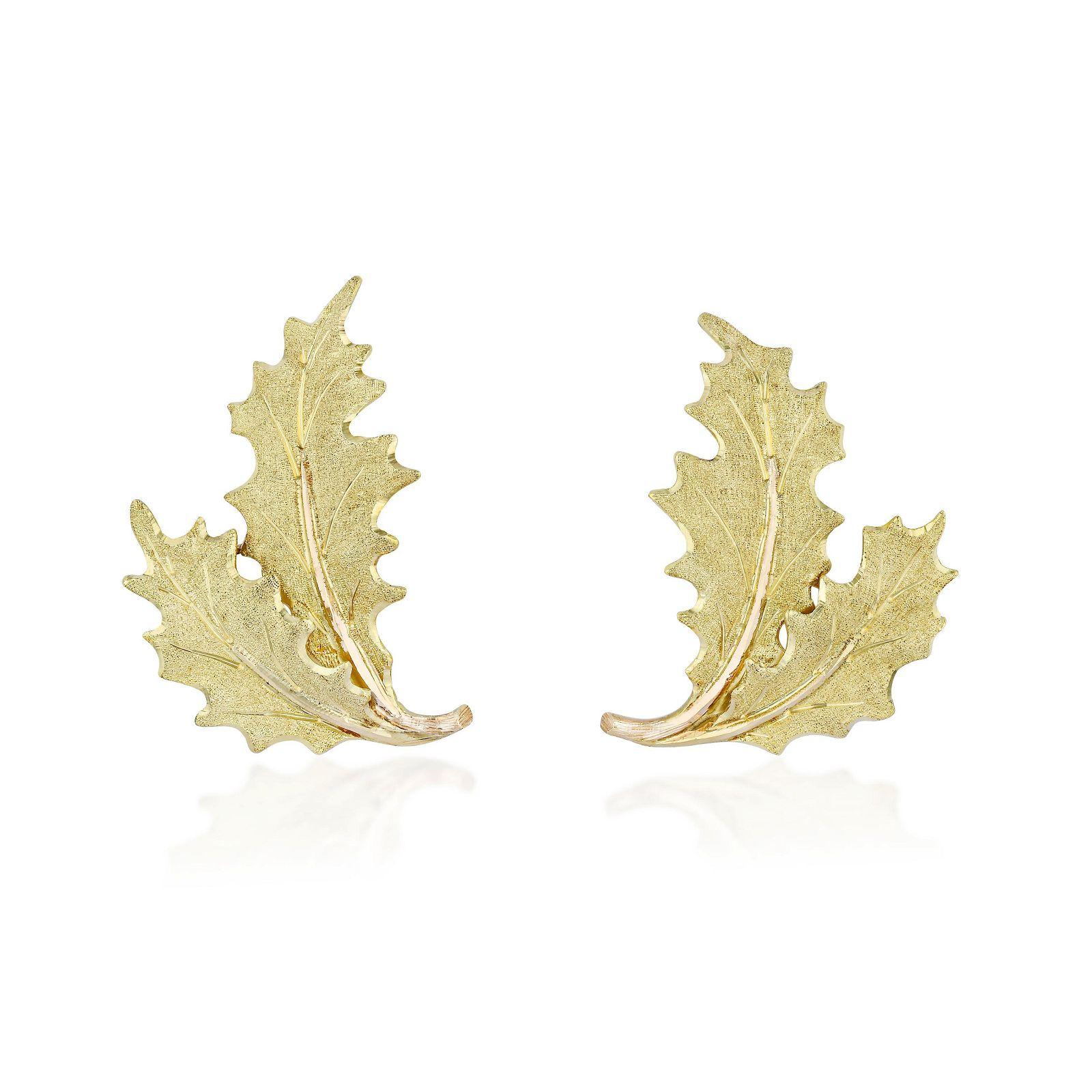 Mario Buccellati Leaf Earclips