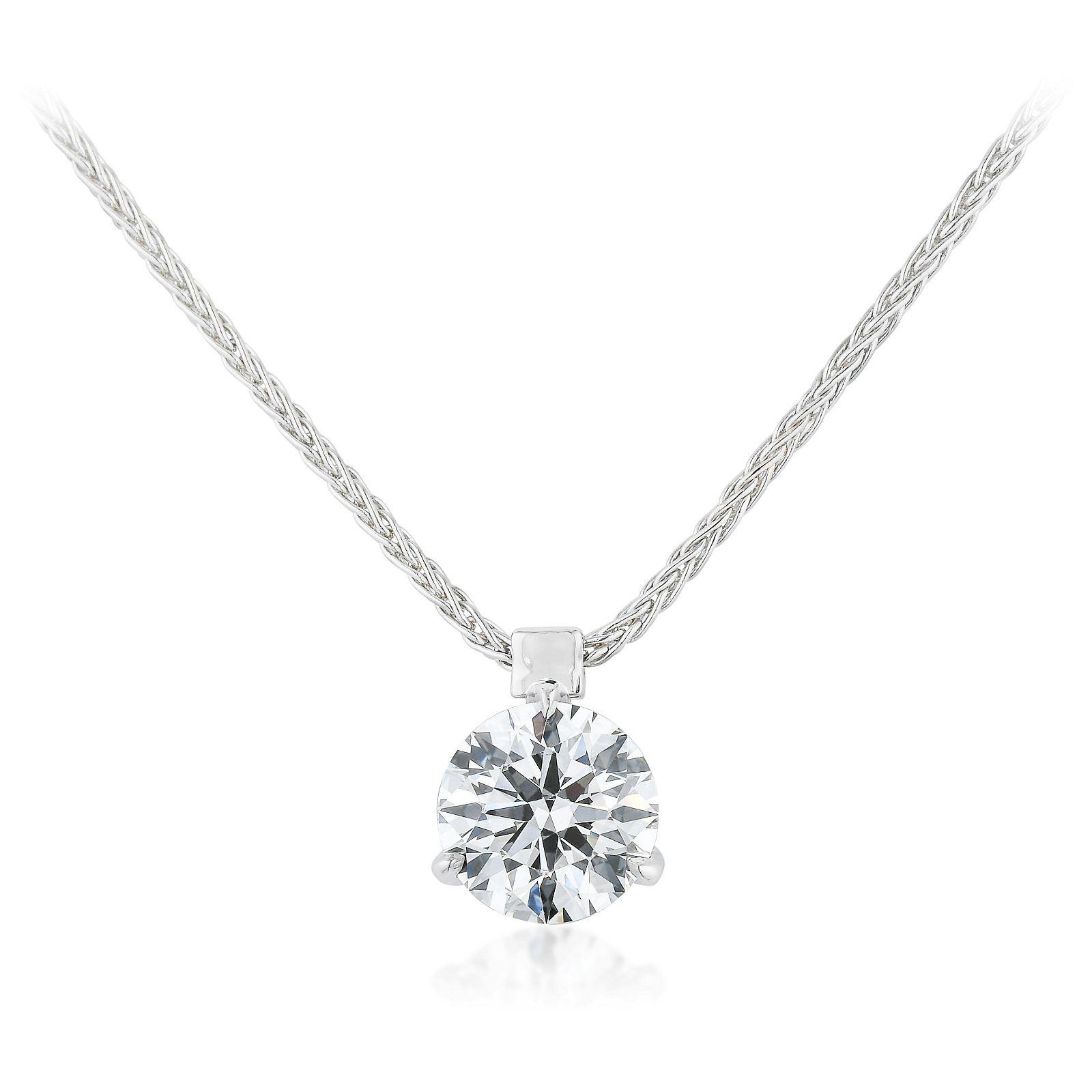 Hearts on Fire 1.14-Carat Diamond Pendant Necklace