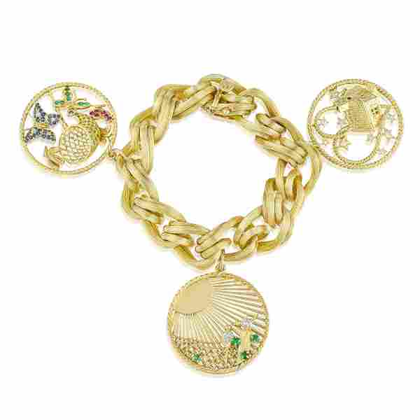 Tiffany & Co. Charm Bracelet