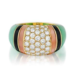 Van Cleef & Arpels Diamond and Multi-Colored Gemstone