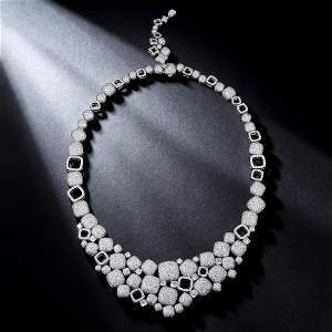 David Yurman High Jewelry 52.38-Carat Diamond Necklace