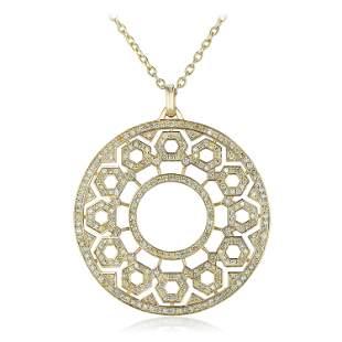 Large Diamond Pendant Necklace