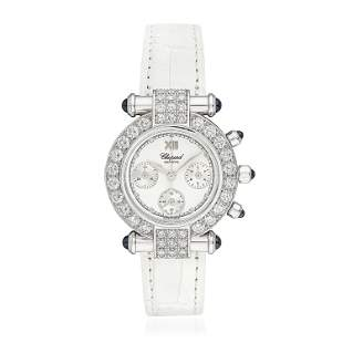 Chopard Imperiale Chronograph in 18K White Gold with