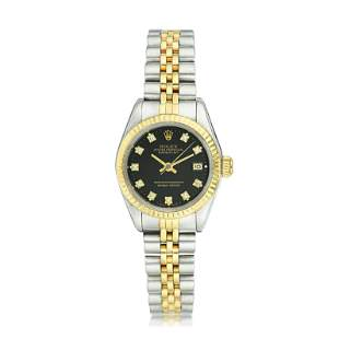 Rolex Datejust Ladies' in Steel and 18K Gold