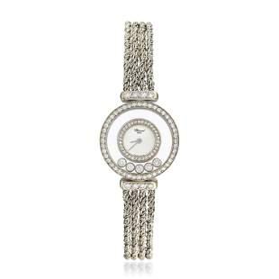 Chopard Happy Diamonds Rope Bracelet Watch in 18K Gold
