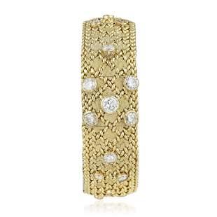Sheffield Ladies' Bracelet Watch in 14K Gold