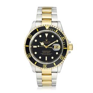Rolex Submariner ref. 16613 in Stainless Steel and 18K
