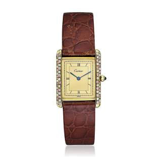 Cartier Tank in Gold Vermeil