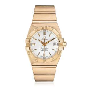 OMEGA Constellation Double Eagle in 18K Rose Gold