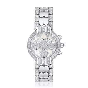 Harry Winston Premiere Chronograph in 18K Gold with