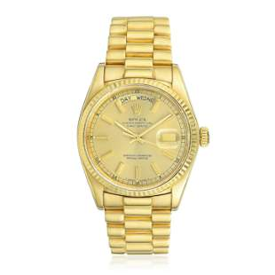 Rolex Day-Date President Ref. 18038 in 18K Gold