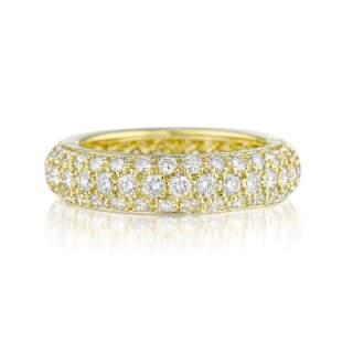 Cartier Pave Diamond Band