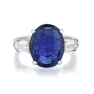 Van Cleef & Arpels 7.54-Carat Ceylon Unheated Sapphire