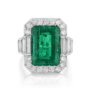 Garrard & Co. 8.18-Carat Fine Colombian Emerald and