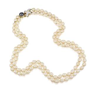 Faux Baroque Pearls with Christopher Walling Tahitian
