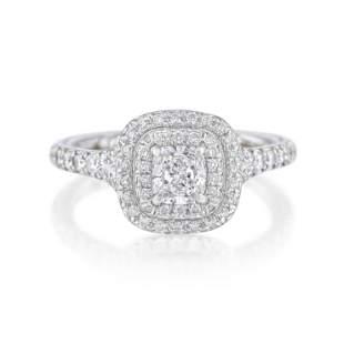 "Tiffany & Co. ""Soleste"" Diamond Ring"