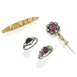 Group of Very Rare Antique Jewelry