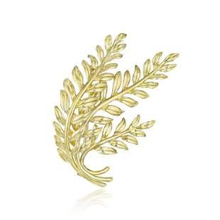 Tiffany & Co. Laurel Leaf Brooch