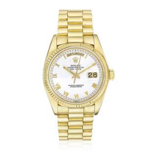 Rolex President Day Date in 18K Gold
