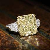 10.02-Carat Radiant-Cut Diamond Ring, GIA Certified