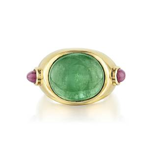 Emerald and Ruby Ring