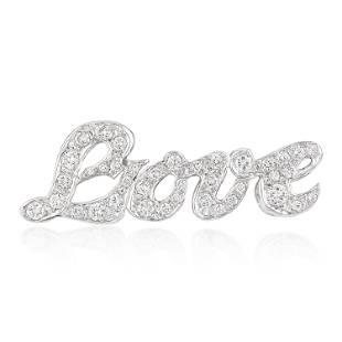 Love Diamond Pin