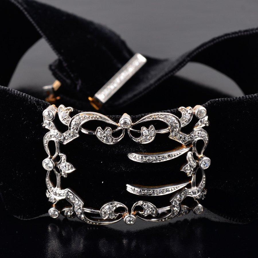 Edwardian diamond choker