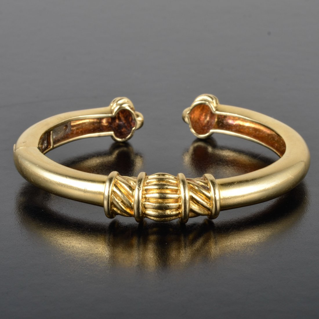 Tiffany gold bangle