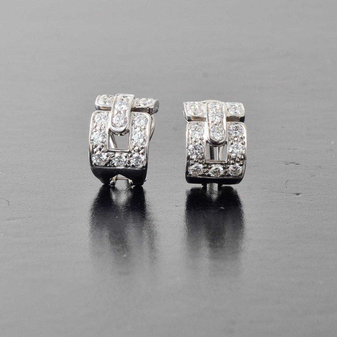 Tiffany Diamond Earrings
