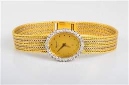 Chopard Lady's Diamond Gold Watch