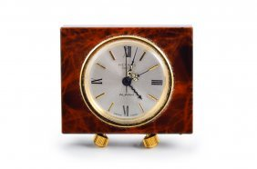 Hermes Lacquer Travel Clock