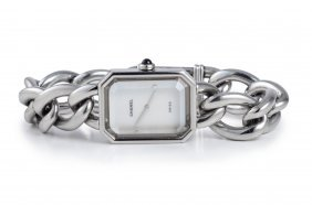 Chanel Stainless Steel Ladies' Watch With Mother Of