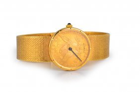 Corum Gold Ten-dollar Ladies' Watch