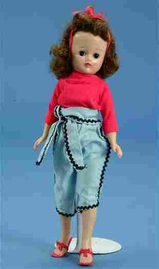 """10.5"""" Vogue Jill, walker, all orig, missing tag, VG"""