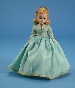 "9"" Madame Alexander Sleeping Beauty, 1959 Disney exc"
