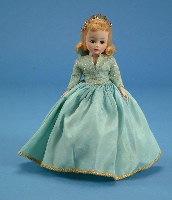 "7: 9"" Madame Alexander Sleeping Beauty, 1959 Disney exc"