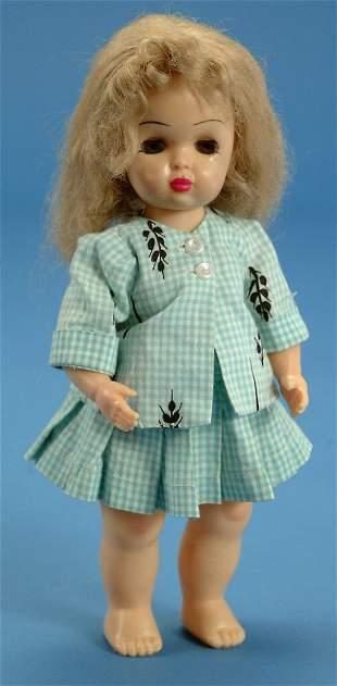 """10"""" Tiny Terri Lee walker, orig clothes, missing ta"""