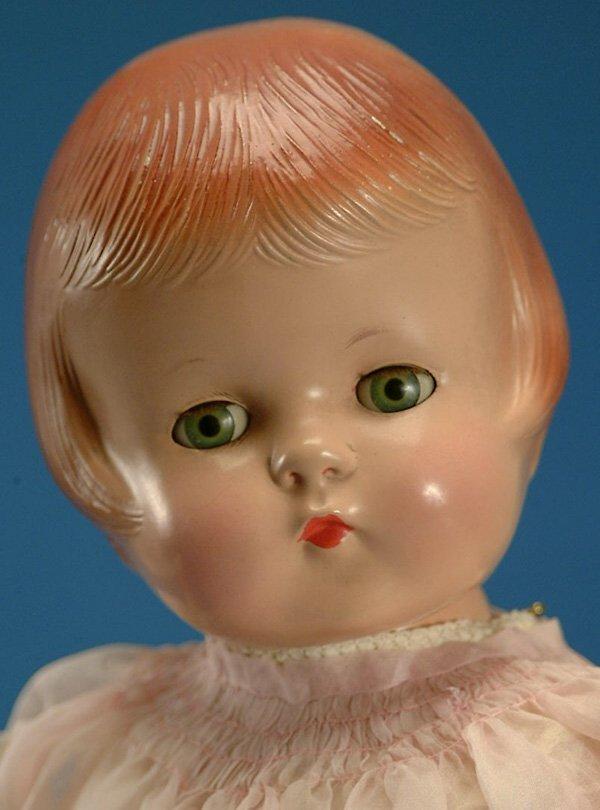 "360: 22"" Effanbee Patsy Lou, all comp, gr. sl. eyes, mo"