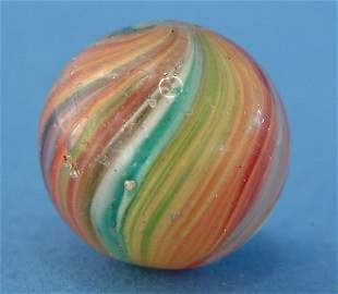 "Multicolored Onionskin Marble, .5"", G-VG, (est. $25"
