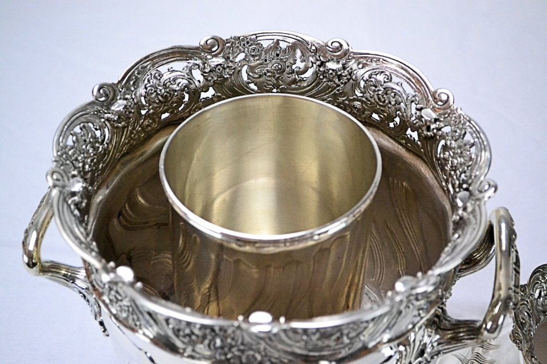 Tiffany & Co. Sterling Silver Wine Cooler - 6