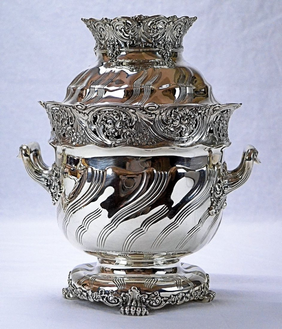 Tiffany & Co. Sterling Silver Wine Cooler - 8