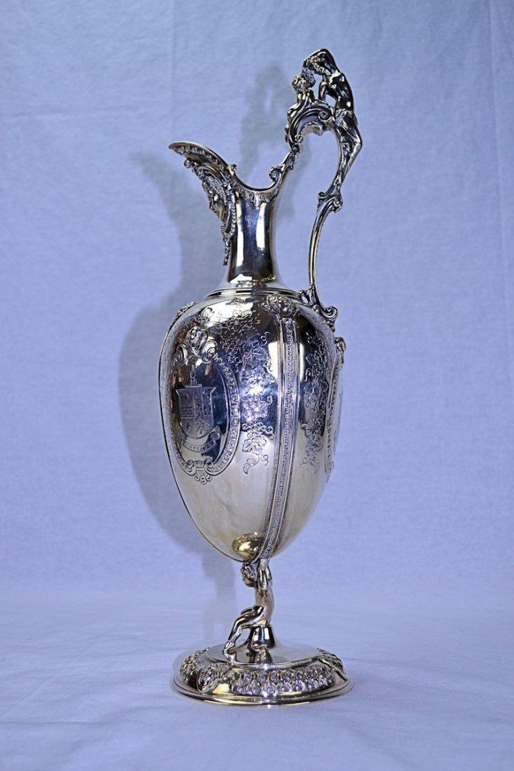 Victorian Sterling Silver Claret Jug 1888