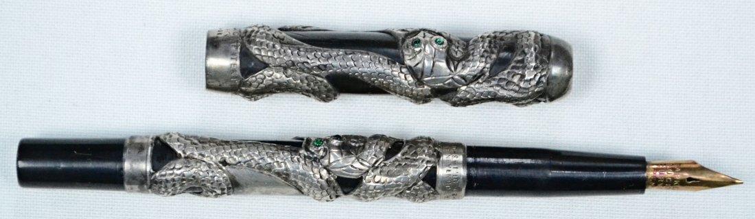 Original Parker 37 Snake Fountain Pen c. 1906